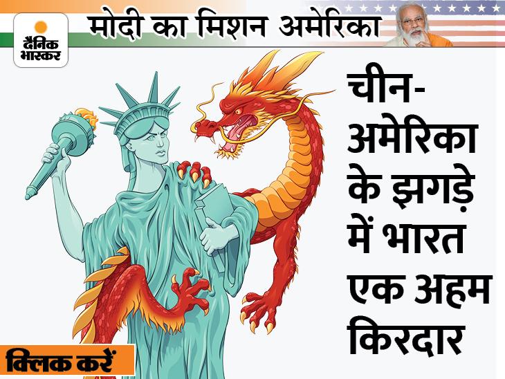 अमेरिका ने पहले चीन को चार देशों के QUAD से घेरा, अब ऑस्ट्रेलिया को दे दी परमाणु पनडुब्बी; क्या ये नए शीत युद्ध की शुरुआत है?|DB ओरिजिनल,DB Original - Dainik Bhaskar