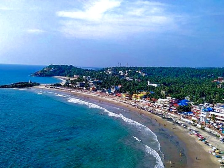 Tamil Nadu's Kovalam beach, Puducherry's Eden get Blue Flag certification all you need to know about Blue Flag |  Kerala's Kevalam and Puducherry's Eden Beach got 'Blue Flag' certificates, the number of such beaches in the country increased to 10;  Know its meaning