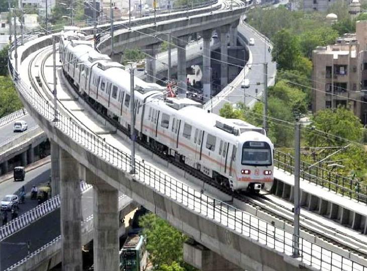जयपुर प्रशासन ने अभ्यर्थियों के आने-जाने के लिए जयपुर मेट्रो ट्रेन को फ्री करने की मांग की, समय और फेरे बढ़ाने का भी प्रस्ताव भेजा जयपुर,Jaipur - Dainik Bhaskar
