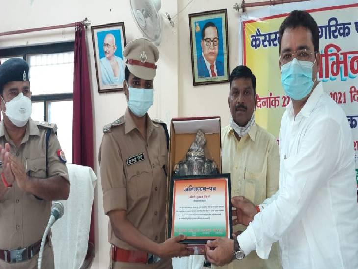 तीन मासूम समेत चार लोगों के मर्डर केस का एक हफ्ते में किया था खुलासा, महाराष्ट्रा में छिपे थे आरोपी|बहराइच,Bahraich - Dainik Bhaskar