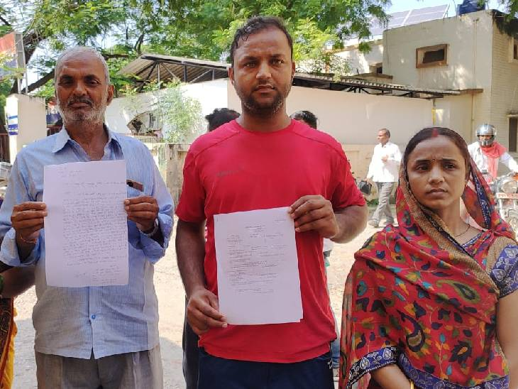 पत्नी की हत्या के अरोप में फरार है पति, 6 दिन से लापता बच्चे; मायके वालों ने अपहरण का लगाया आरोप|जौनपुर,Jaunpur - Dainik Bhaskar
