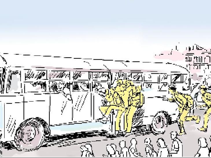 26 को 26.51 लाख की परीक्षा; सरकार! 3000 बसों में 1.50 लाख रीट अभ्यर्थी ही परीक्षा देने जा सकेंगे, बाकी 10.50 लाख का क्या?|जयपुर,Jaipur - Dainik Bhaskar