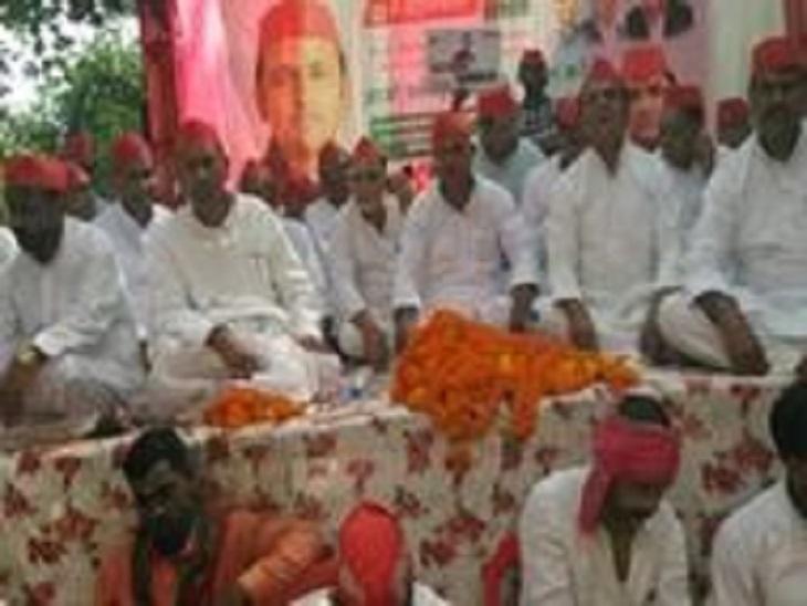 समाजवादी लोहिया वाहिनी के राष्ट्रीय अध्यक्ष प्रदीप ने कहा- किसानों, नौजवानों व मुसलमानों के चेहरे पर अखिलेश लाएंगे मुस्कान|आजमगढ़,Azamgarh - Dainik Bhaskar