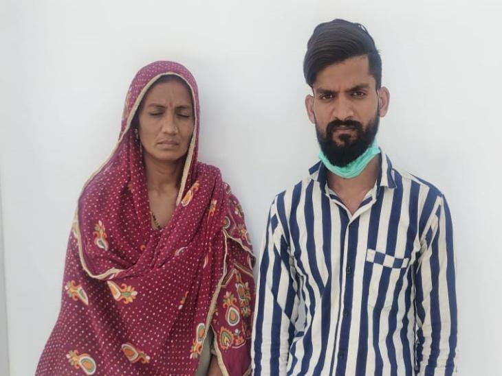 फर्जी शादी करवाकर युवक से ऐंठे थे रुपए, पुलिस ने मोबाइल लोकेशन के आधार पर पकड़ा, कोर्ट ने दलाल पति को पुलिस रिमांड पर भेजा जालोर,Jalore - Dainik Bhaskar