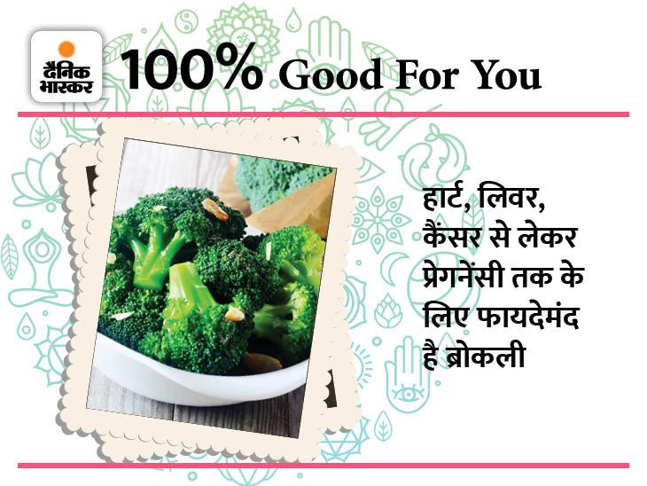 इन पांच बीमारियों में फायदेमंद है ब्रोकली, डाइट में करें शामिल|फूड,Food - Dainik Bhaskar