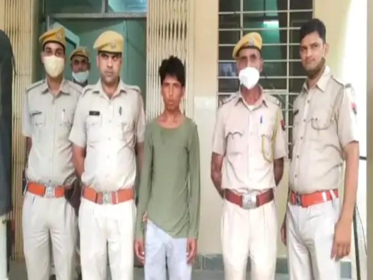 RAC कमांडेंट को बदनाम करने की धमकी देकर मांगे रुपए, बैंक खाता नंबर लेकर रुपए देने से किया मना, पुलिस ने ट्रैक कर ठग को भरतपुर से किया गिरफ्तार|टोंक,Tonk - Dainik Bhaskar