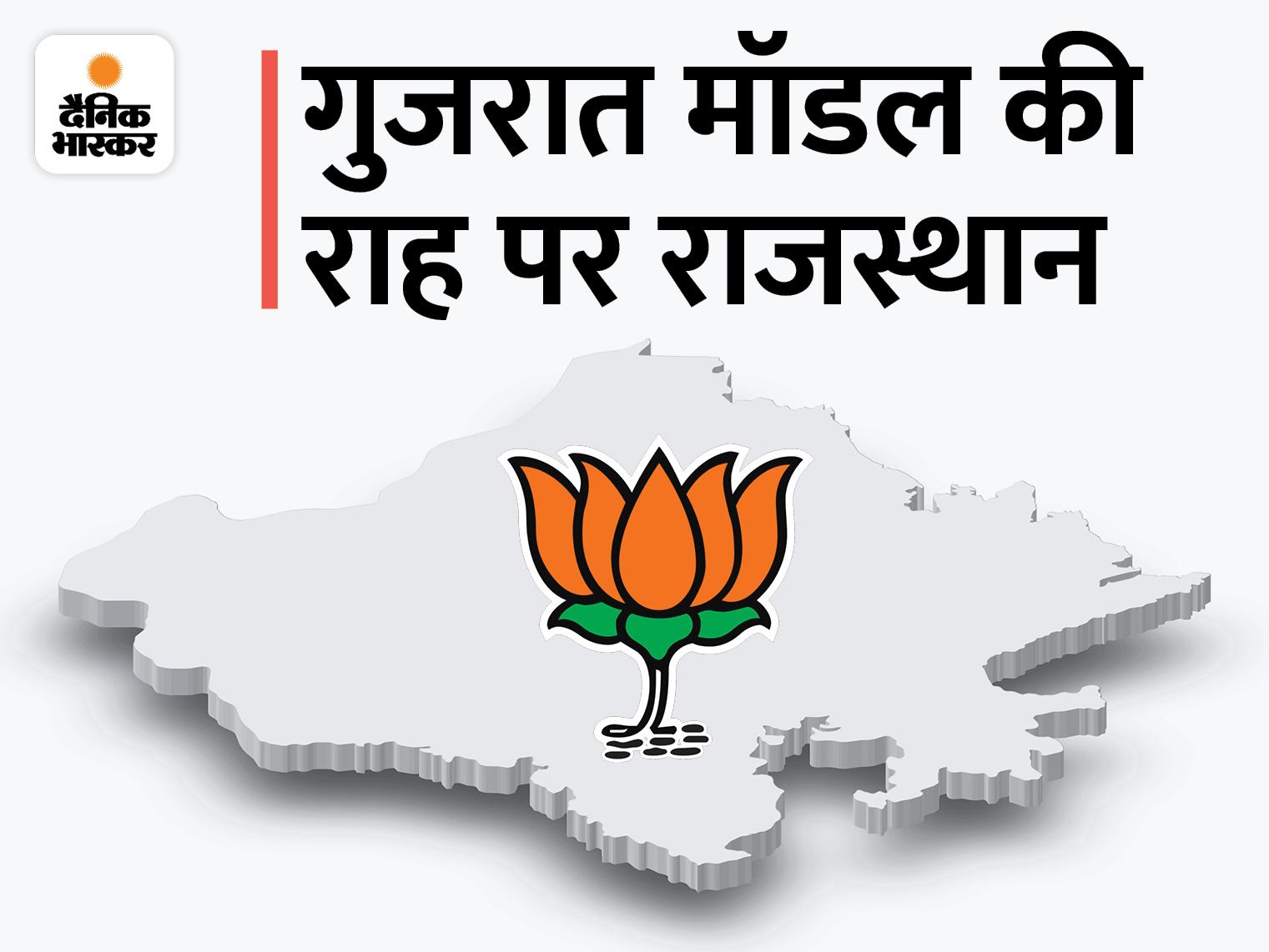बिना सीएम प्रोजेक्ट किए पीएम मोदी के चेहरे पर विधानसभा चुनाव लड़ेगी बीजेपी, नेताओं को खींचतान मिटाने का साफ संदेश|जयपुर,Jaipur - Dainik Bhaskar