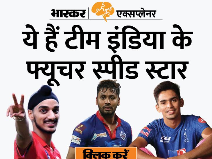 पाकिस्तान को बेदखल कर भारत बन रहा है तेज गेंदबाजी का बेताज बादशाह; जानें कार्तिक त्यागी समेत इन 8 पेसर्स की खासियत|एक्सप्लेनर,Explainer - Dainik Bhaskar