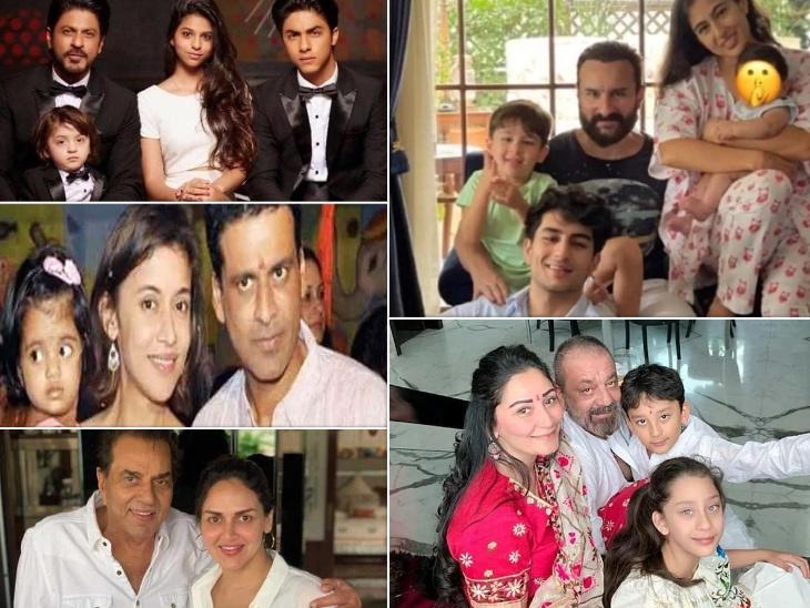 राजेश खट्टर, सैफ अली खान से लेकर संजय दत्त तक, जब उम्र की परवाह किए बिना अधेड़ उम्र में पिता बने एक्टर्स बॉलीवुड,Bollywood - Dainik Bhaskar