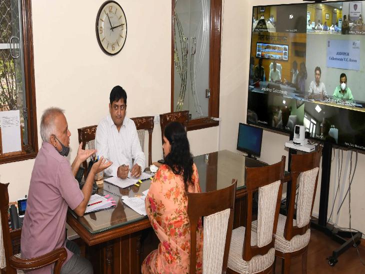 मुख्य सचिव निरंजन आर्य ने की उपराष्ट्रपति के दौरे की तैयारी बैठक।
