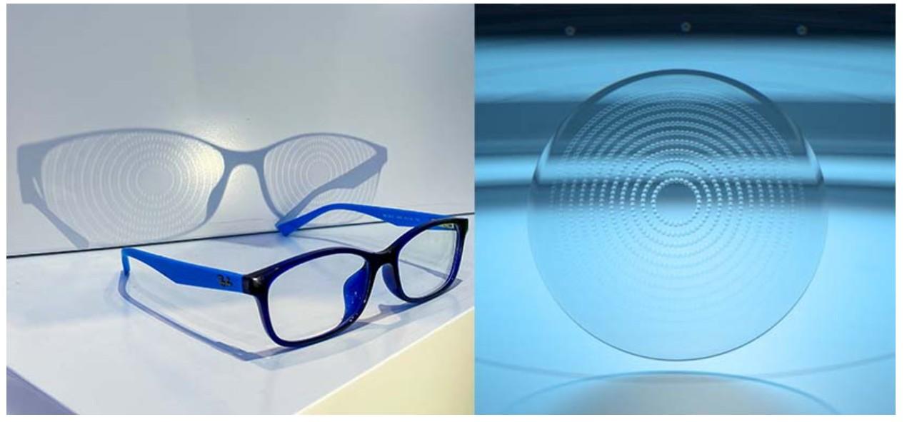 चश्में में बने ये रिंग्स ही मायोपिया के असर को कम करने का काम करते हैं।