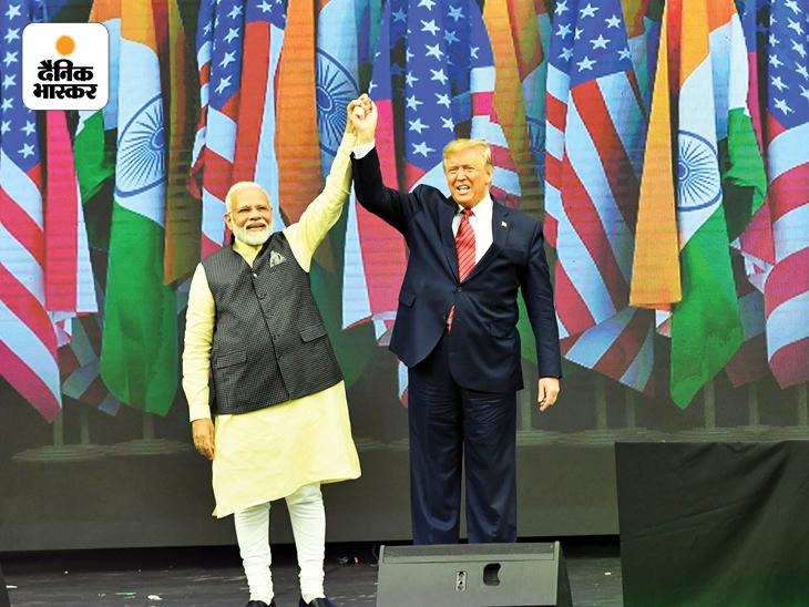 प्रधानमंत्री बनने के बाद 6वीं बार नरेंद्र मोदी सितंबर 2019 में अमेरिका पहुंचे। तब मोदी के स्वागत के लिए ह्यूस्टन में हाउडी मोदी कार्यक्रम का आयोजन किया गया था। इसमें करीब 50 हजार लोगों को मोदी ने संबोधित किया था। मोदी के साथ अमेरिका के तत्कालीन राष्ट्रपति डोनाल्ड ट्रम्प भी मौजूद थे। इसी कार्यक्रम में मोदी ने अब की बार ट्रम्प सरकार का नारा दिया था।