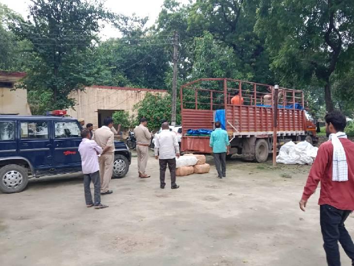 जौनपुर में ट्रक लूट का खुलासा। - Dainik Bhaskar