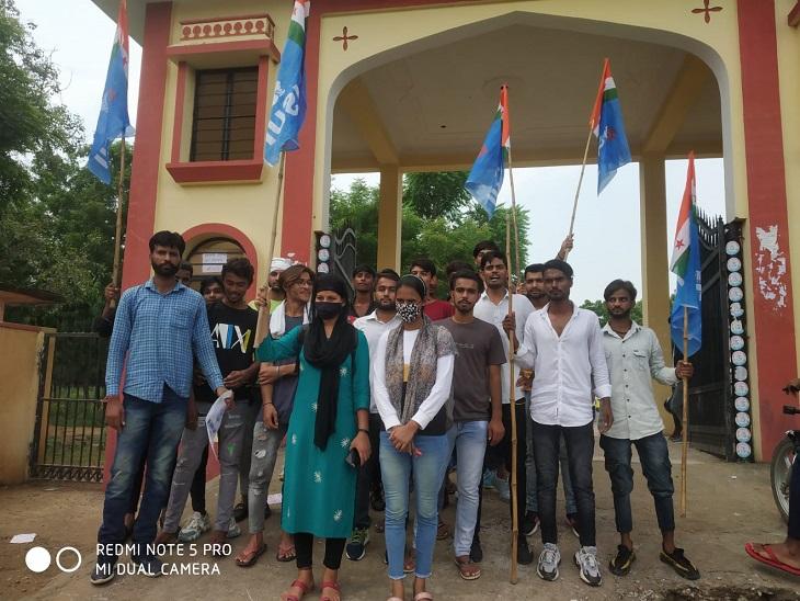 सरकारी कॉलेजों में सीटों की संख्या बढ़ाने की मांग,12 वीं कक्षा के छात्रों को अनिवार्य मिले प्रवेश|झुंझुनूं,Jhunjhunu - Dainik Bhaskar