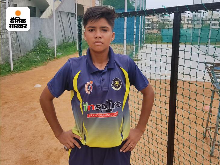 हैदराबाद (अंडर 19) स्टेट क्रिकेट टीम की ओपनर बल्लेबाज संध्या गौरा।