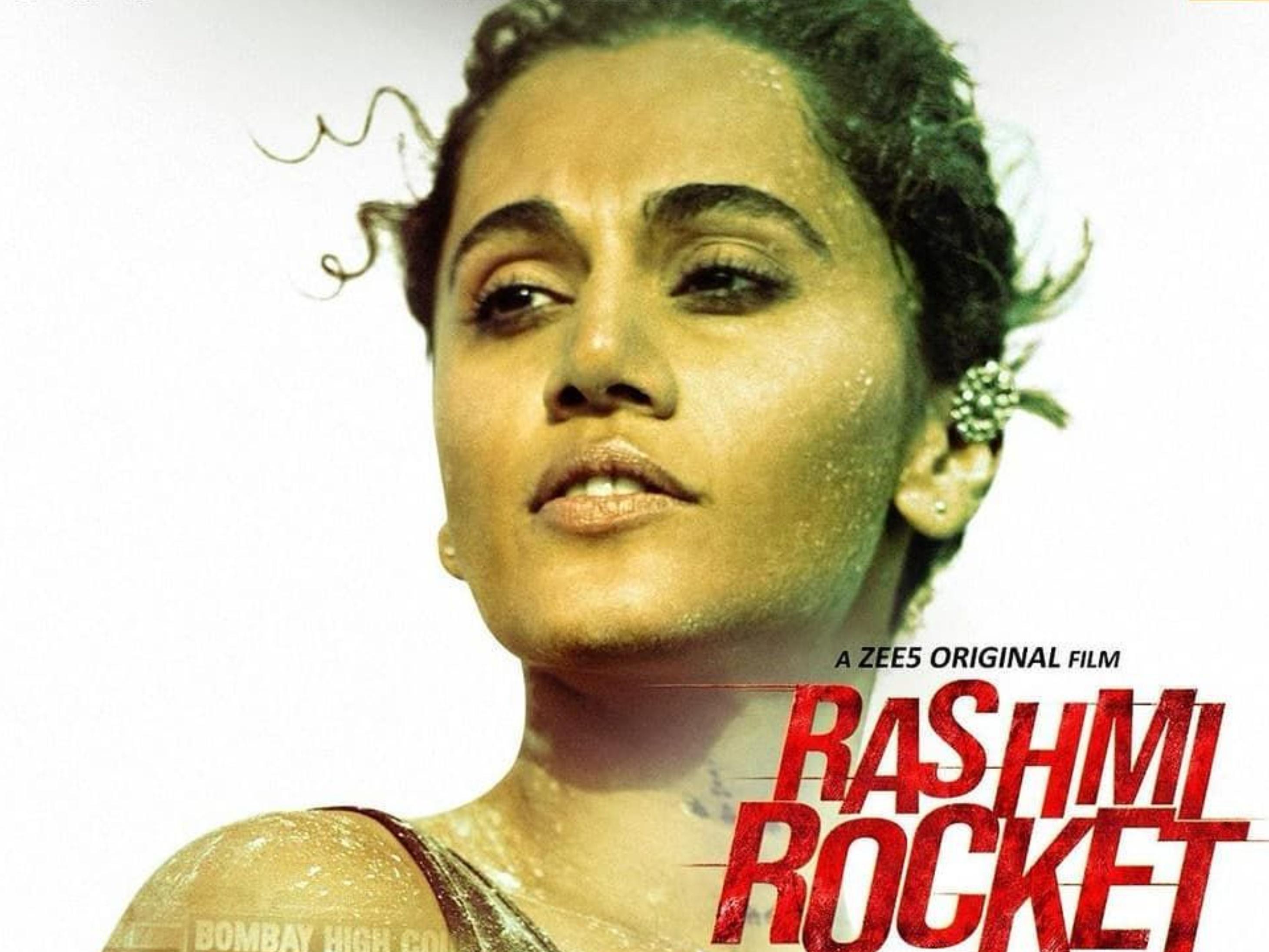 स्पोर्ट्स ड्रामा रश्मि रॉकेट में दिखा तापसी पन्नू का हार्ड हिटिंग लुक, अब तक के सबसे फिट अवतार में दिखीं एक्ट्रेस बॉलीवुड,Bollywood - Dainik Bhaskar