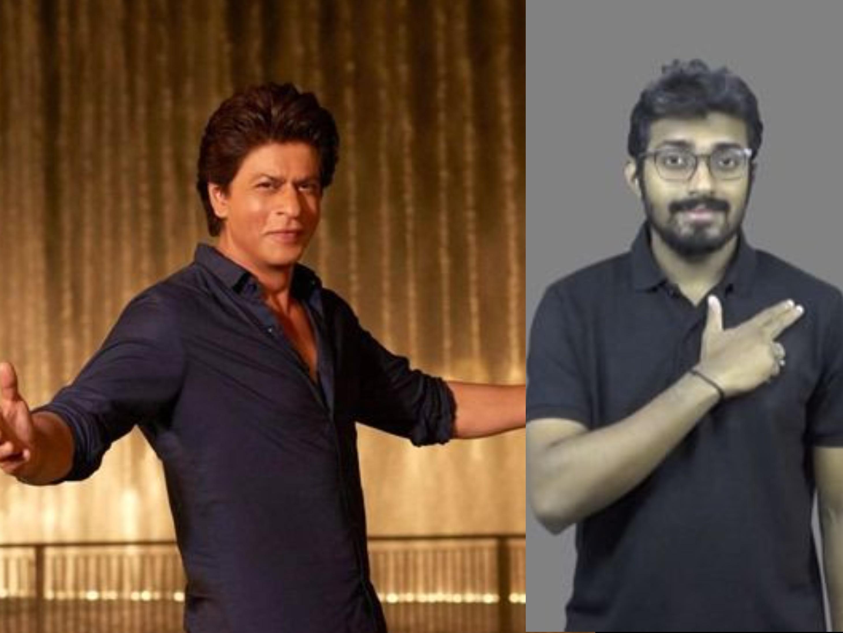 इंडियन साइन लैंग्वेज डिक्शनरी में शाहरुख़ खान का नाम भी शामिल, दायां हाथ बंदूक की तरह दिल पर दो बार टैप करना होगा बॉलीवुड,Bollywood - Dainik Bhaskar
