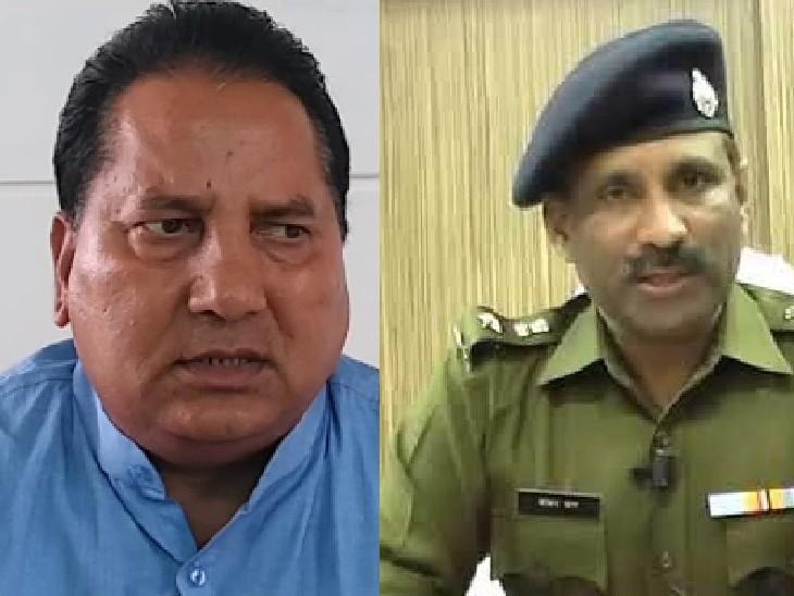 विजिलेंस कमेटी की बैठक में जयपुर ग्रामीण एसपी से नागर ने कहा- अवैध खनन रोकने में टीम नाकाम, अब तक आपने क्या किया ?|जयपुर,Jaipur - Dainik Bhaskar