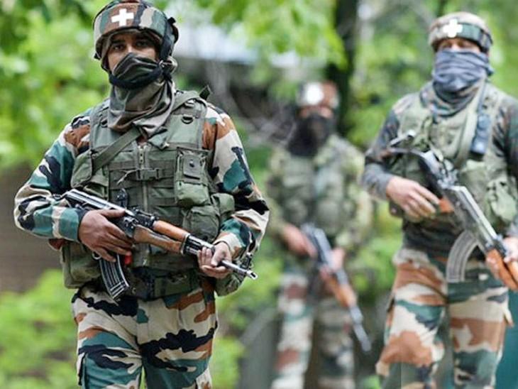जम्मू-कश्मीर के उरी में सुरक्षा बलों ने 3 आतंकी मार गिराए, 5 AK-47 और 70 हथगोले बरामद|देश,National - Dainik Bhaskar