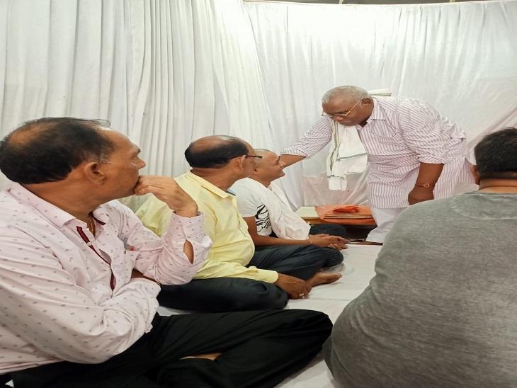 राज्य मंत्री गणेश राम भगत ने गड़बड़ी की।