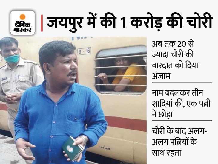 बांग्लादेश से जयपुर आता था, लुंगी-बनियान में रेकी करता; पुलिस ने यूपी रेलवे पुलिस की मदद से कानपुर में पकड़ा|जयपुर,Jaipur - Dainik Bhaskar