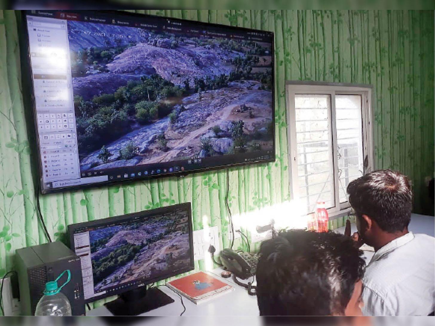 जंगल में शिकार राेकने 9 प्वाइंट पर लगने थे थर्मल कैमरे, 4 जगह ही लगाए, उनका भी रुख बदल दिया|पाली,Pali - Dainik Bhaskar
