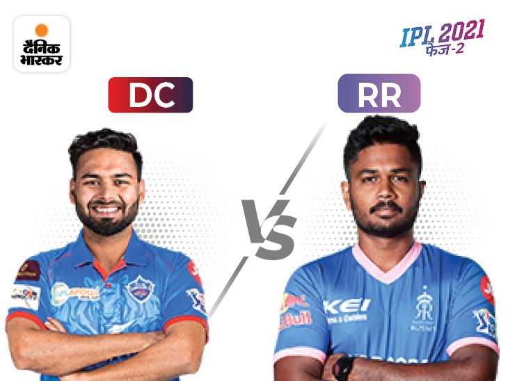 दिल्ली कैपिटल्स की नजरें प्ले ऑफ में पहुंचने वाली पहली टीम बनने पर, राजस्थान के पास टॉप-4 में पहुंचने का मौका|IPL 2021,IPL 2021 - Dainik Bhaskar