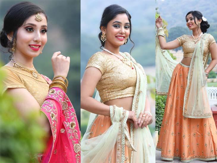 राजस्थान टूरिज्म और कल्चर को किया प्रमोट, पारम्परिक परिधान में नजर आई राजस्थानी संस्कृति|जयपुर,Jaipur - Dainik Bhaskar