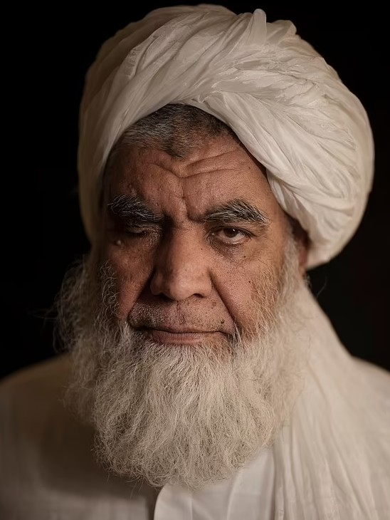 Nooruddin Turabi (60) was the law minister in the previous Taliban regime.