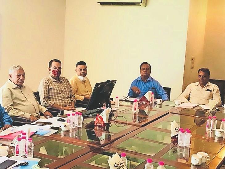 38 साल जनार्दन गहलोत के हाथ रही कमान, 5 महीने पहले निधन के बाद दो फाड़ हो गया राजस्थान ओलिंपिक संघ|जयपुर,Jaipur - Dainik Bhaskar