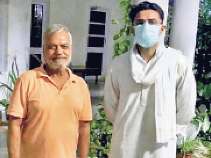 पायलट और सीपी जोशी के बीच मुलाकात, दो घंटे तक चली मंत्रणा|राजस्थान,Rajasthan - Dainik Bhaskar