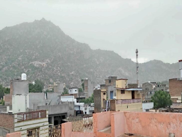 सीजन के पहले ढाई माह में केवल 126 तो सितंबर के 23 दिनों में 169 एमएम बरसात|जालोर,Jalore - Dainik Bhaskar