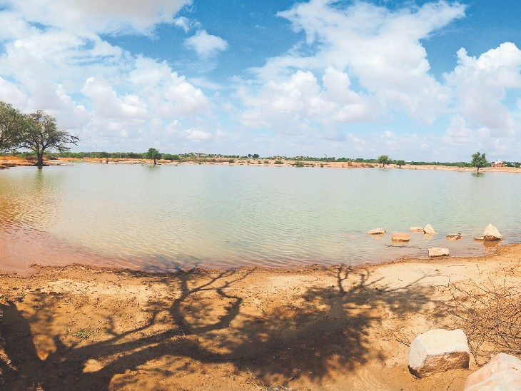 रामसर, शिव और चौहटन में एक-एक इंच बरसा पानी, सितंबर के 23 में से छह दिन को छोड़ 18 दिन में साढ़े पांच इंच बरसात|बाड़मेर,Barmer - Dainik Bhaskar