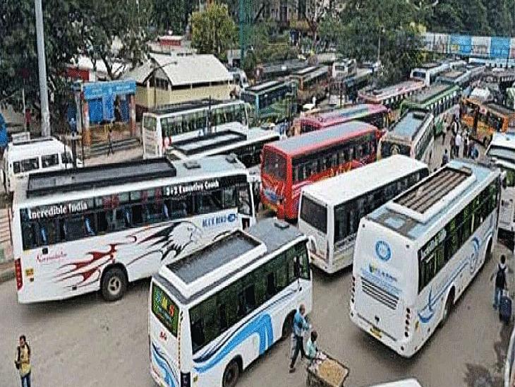 जयपुर मेट्रो और जेसीटीएसएल लो फ्लोर में भी फ्री यात्रा, सरकार से समझौते के बाद निजी बस ऑपरेटर की हड़ताल खत्म|REET 2021,REET 2021 - Dainik Bhaskar
