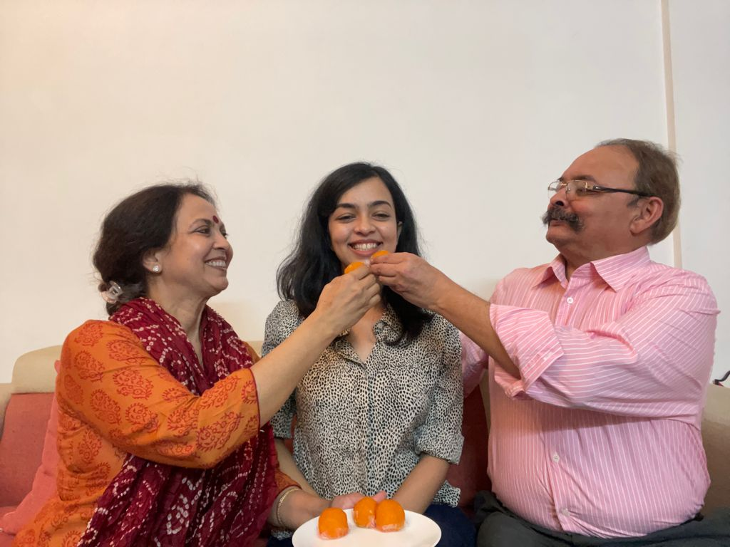 तीसरे प्रयास में अपाला मिश्रा को मिली सफलता, IFS चुनकर विदेश नीति पर बेहतर काम करने का है इरादा कौशांबी,Kaushambi - Dainik Bhaskar