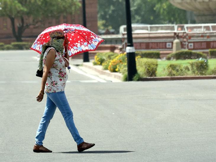 मानसून सिस्टम एक्टिव नहीं होने से धीमा पड़ेगा बारिश का दौर,वातावरण में नमी का स्तर ज्यादा होने से बढ़ेगी परेशानी|जयपुर,Jaipur - Dainik Bhaskar