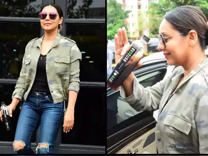 ब्लैक वाटर की बोतल हाथ में लिए गौरी खान की फोटो वायरल, ट्रोलर्स बोले-सब पैसों का चक्कर है बाबू भैया|बॉलीवुड,Bollywood - Dainik Bhaskar