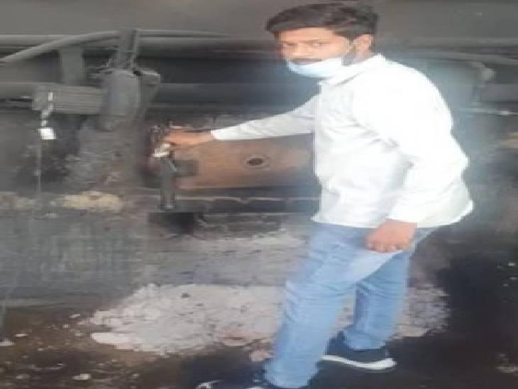 टायर जलाकर निकाला जा रहा था तेल, प्रदूषण विभाग की टीम ने की छापेमारी शामली,Shamli - Dainik Bhaskar