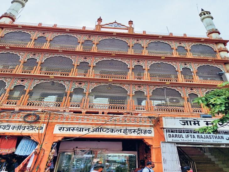 मंदिरों के बाद अब पहली बार जामा मस्जिद में होंगे 2.26 करोड़ रुपए के काम, मगर फोकस हेरिटेज पर नहीं...नए निर्माण पर जयपुर,Jaipur - Dainik Bhaskar