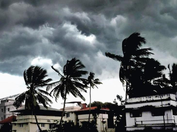 आंध्र प्रदेश और ओडिशा में चक्रवाती तूफान गुलाब को लेकर येलो अलर्ट, हवाओं की रफ्तार बढ़ी; बंगाल में भारी बारिश का अनुमान|देश,National - Dainik Bhaskar