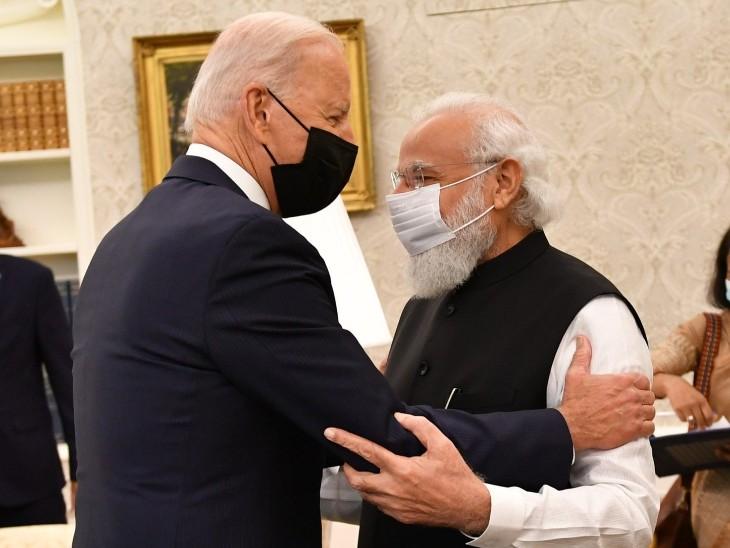 बुश, ओबामा और ट्रंप की राह पर बाइडेन, बोले- भारत को सिक्योरिटी काउंसिल की स्थायी सीट मिले विदेश,International - Dainik Bhaskar