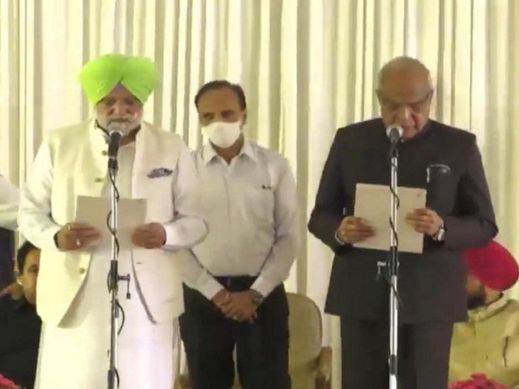 कैप्टन कैबिनेट में मंत्री रहे विधायक ले रहे शपथ; अंतिम समय से पहले एक मंत्री का नाम बदला गया जालंधर,Jalandhar - Dainik Bhaskar