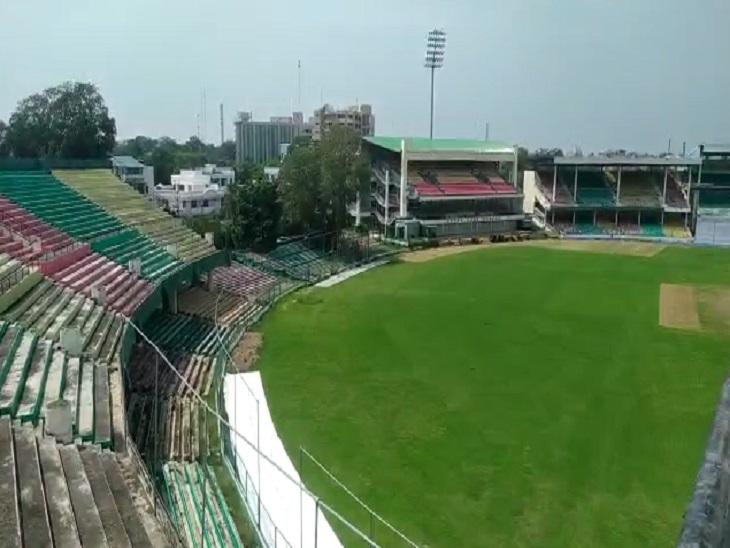 कानपुर, इटावा, जालौन, औरैया, कानपुर देहात, सहारनपुर के खिलाडियों ने लिया भाग, फाइनल ट्रायल के बाद बनाई जाएगी टीम|कानपुर,Kanpur - Dainik Bhaskar