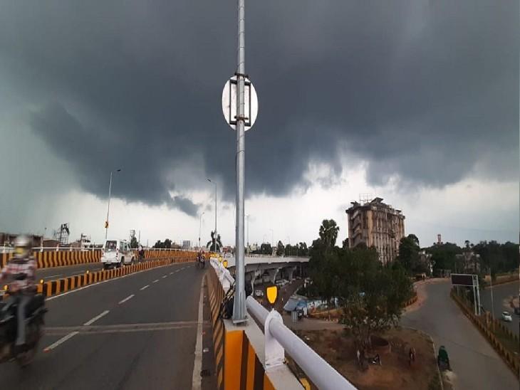 बंगाल की खाड़ी में उठा 'गुलाब' तूफान, बिहार में 24 घंटे में दिखेगा आंशिक असर; हल्की बारिश और तेज हवा के आसार|बिहार,Bihar - Dainik Bhaskar