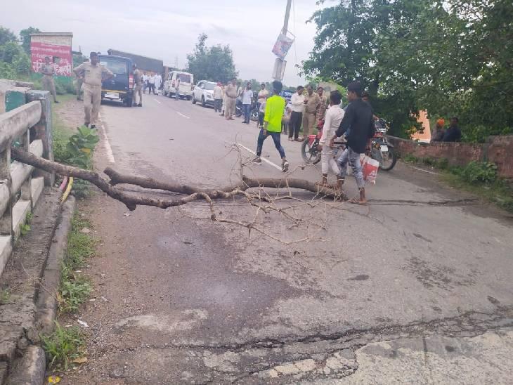 PWD ने मरम्मत करने से किया मना, पुल में पड़ गई हैं कई दरारें गोंडा,Gonda - Dainik Bhaskar