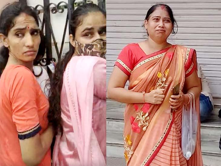सीकर में कुछ लड़कियां लेट हो गईं, प्रवेश नहीं मिला तो गेट खटखटाते हुए रोती रहीं, अजमेर में गुजरात से आई एक महिला का प्रवेश पत्र गुम होने से वह लेट हो गई और उसे प्रवेश नहीं दिया गया तो वह रोने लगी।