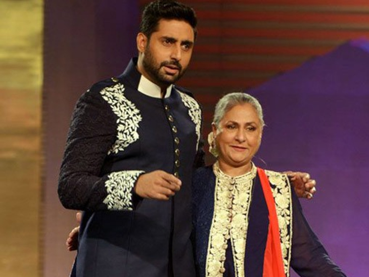 अभिषेक बच्चन ने मां जया बच्चन की फिल्मों की फोटोज शेयर कर दी बधाई, बोले-सिनेमा के 50 साल मुबारक हो मां|बॉलीवुड,Bollywood - Dainik Bhaskar