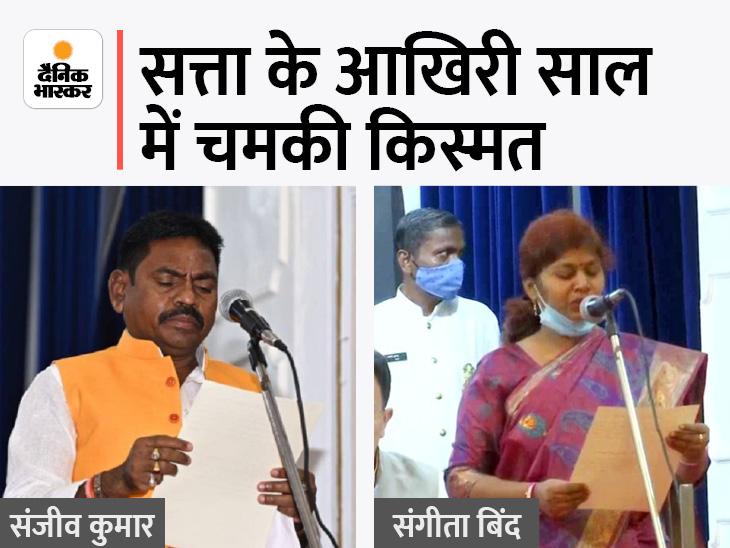 संजीव गोंड अपने राजनीतिक गुरु को हराकर बने थे विधायक, पोस्टमैन की बेटी संगीता बिंद को मनोज सिन्हा ने दिलाया था टिकट|सोनभद्र,Sonbhadra - Dainik Bhaskar