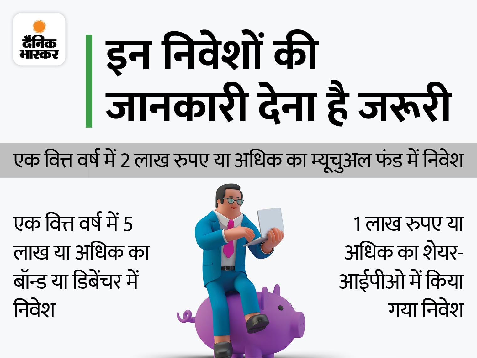 सैलरी के अलावा अन्य सभी स्रोतों से हुई आय का जिक्र इनकम टैक्स रिटर्न में करना जरूर, नहीं तो आ सकता है नोटिस बिजनेस,Business - Dainik Bhaskar