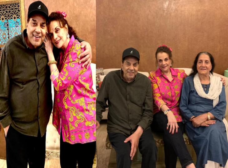 सालों बाद धर्मेंद्र से मिलने उनके घर पहुंचीं मुमताज, एक्टर की पत्नी प्रकाश कौर ने किया स्वागत|बॉलीवुड,Bollywood - Dainik Bhaskar